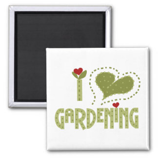 I Love Gardening Tshirts and Gifts Magnet