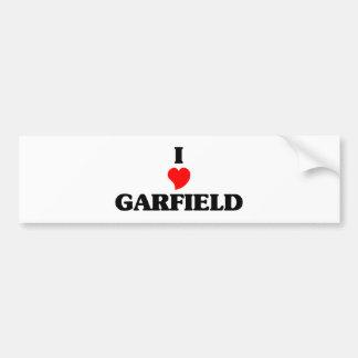I love Garfield Heights Car Bumper Sticker
