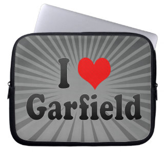 I Love Garfield United States Laptop Computer Sleeves