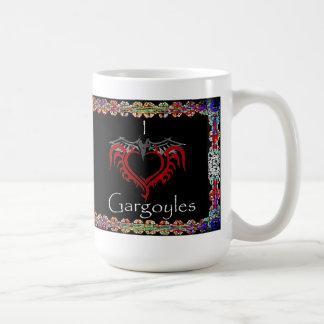 I love Gargoyles mug