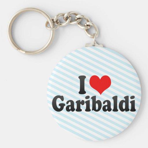 I Love Garibaldi Keychains