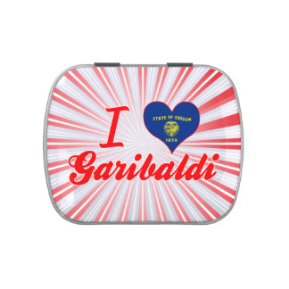 I Love Garibaldi, Oregon Jelly Belly Candy Tin
