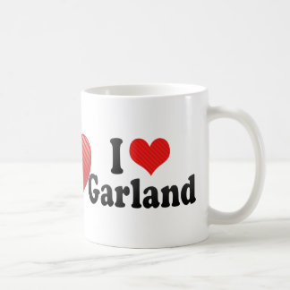 I Love Garland Classic White Coffee Mug