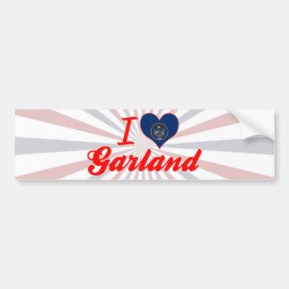 I Love Garland, Utah Bumper Sticker