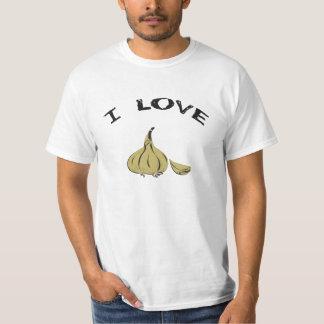 I Love Garlic - Garlic Lovers Design Shirt