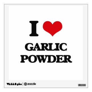 I love Garlic Powder Wall Sticker