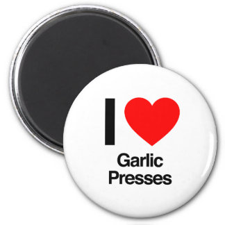 i love garlic presses fridge magnets