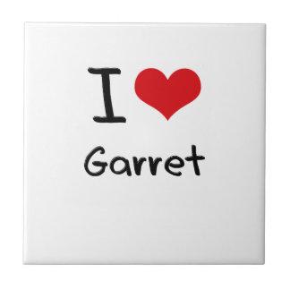 I Love Garret Tiles