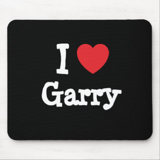 I love Garry heart custom personalized Mouse Pad