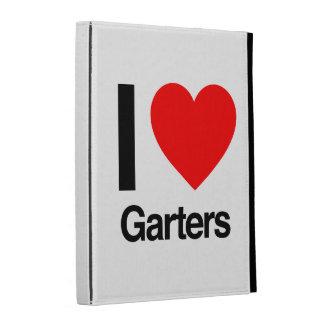i love garters iPad folio cases