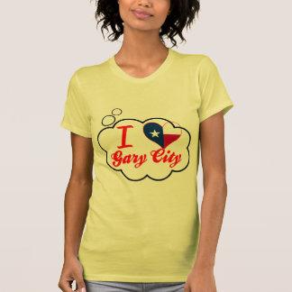 I Love Gary+City, Texas Tshirt