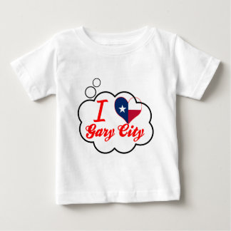 I Love Gary+City, Texas T Shirt