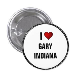 I Love Gary, Indiana Button