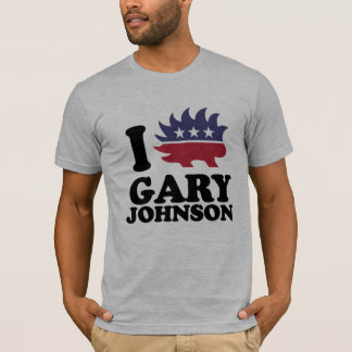 I Love Gary Johnson - Libertarian - -  T-Shirt