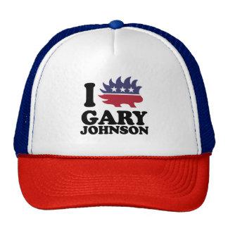 I Love Gary Johnson - Libertarian - -  Trucker Hat