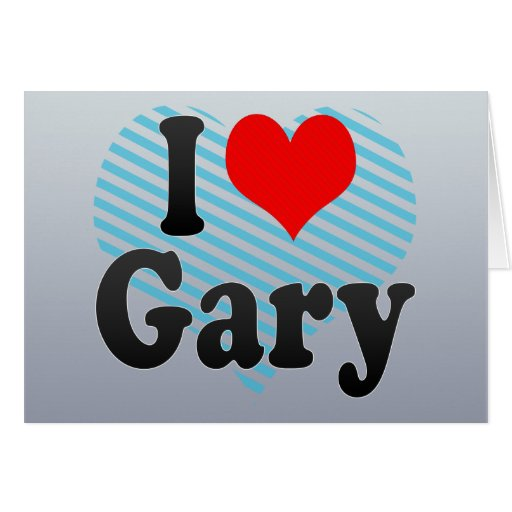 I Love Gary, United States Cards