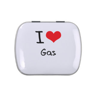I Love Gas Candy Tins