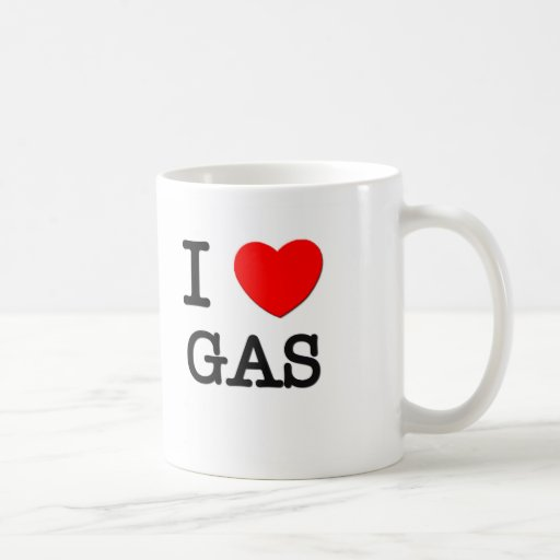 I Love Gas Mugs