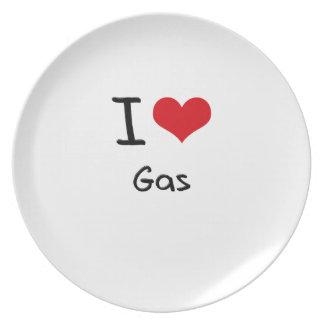 I Love Gas Plate