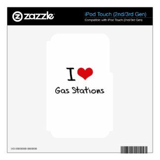 I Love Gas Stations iPod Touch 3G Decal