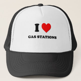 I Love Gas Stations Trucker Hat