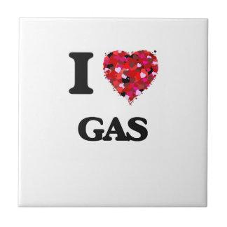 I Love Gas Small Square Tile