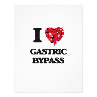 """I Love Gastric Bypass 8.5"""" X 11"""" Flyer"""