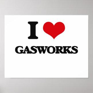 I love Gasworks Posters