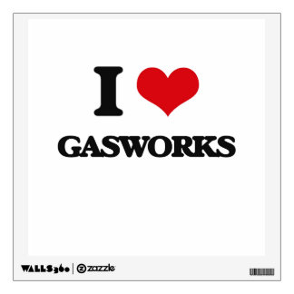 I love Gasworks Wall Decals
