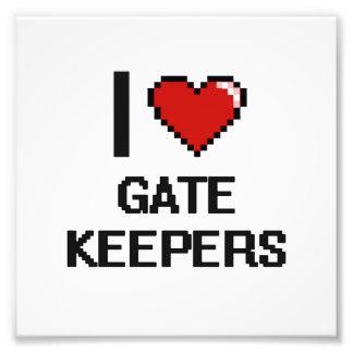 I love Gate Keepers Photo Print