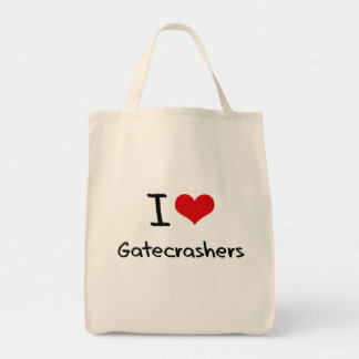 I Love Gatecrashers Tote Bag