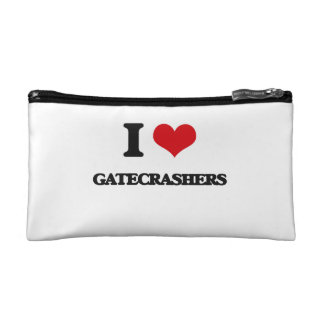 I love Gatecrashers Cosmetic Bag