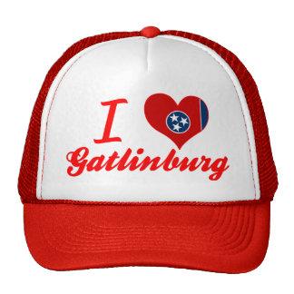 I Love Gatlinburg, Tennessee Trucker Hat