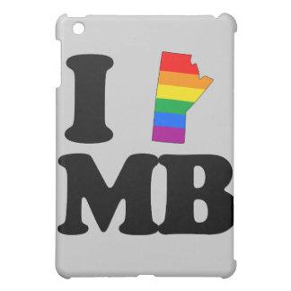 I LOVE GAY MANITOBA -.png iPad Mini Cover