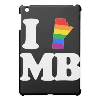 I LOVE GAY MANITOBA - WHITE -.png Cover For The iPad Mini