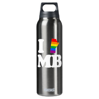 I LOVE GAY MANITOBA - WHITE -.png SIGG Thermo 0.5L Insulated Bottle