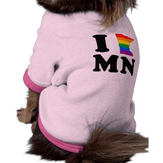 I LOVE GAY MINNESOTA PET TEE