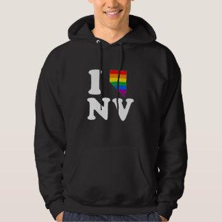 I LOVE GAY NEVADA - WHITE -.png Hoodie