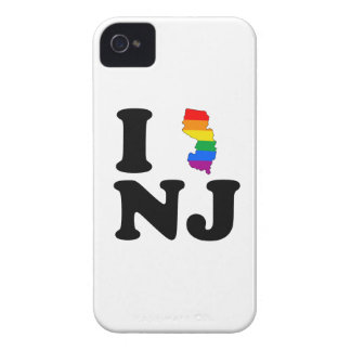 I LOVE GAY NEW JERSEY Case-Mate iPhone 4 CASE