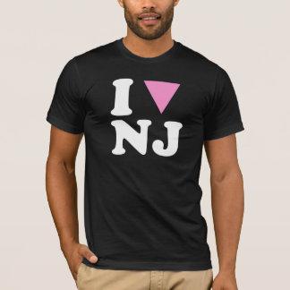 I LOVE GAY NJ - WHITE -.png T-Shirt