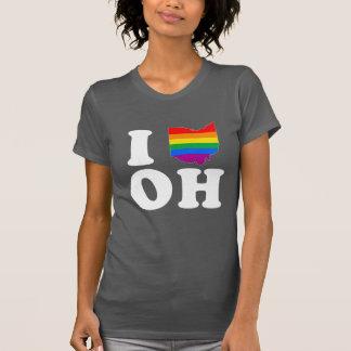 I LOVE GAY OHIO - WHITE -.png Tshirt