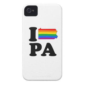 I LOVE GAY PENNSYLVANIA iPhone 4 CASES