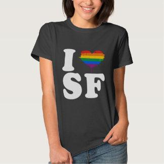 I LOVE GAY SAN FRANCISCO - WHITE -.png Tee Shirt