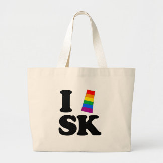 I LOVE GAY SASKATCHEWAN -.png Tote Bag