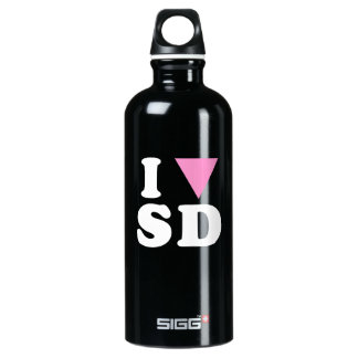 I LOVE GAY SD - WHITE -.png SIGG Traveler 0.6L Water Bottle