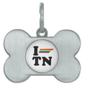 I LOVE GAY TENNESSEE PET NAME TAGS