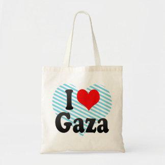 I Love Gaza, Palestinian Territory Tote Bag