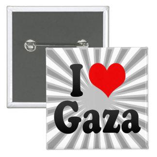 I Love Gaza, Palestinian Territory Buttons