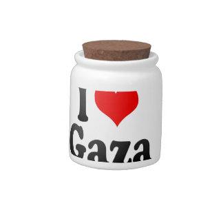I Love Gaza, Palestinian Territory Candy Dish