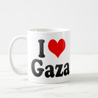 I Love Gaza, Palestinian Territory Coffee Mug